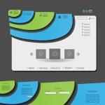 Colorful vector web design — Stock Vector #10108847
