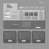 Ijzer texturen site — Stockvector