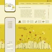 Colorful web design — Stock Vector