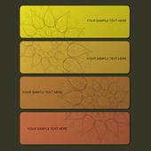 Nature creative banner — Stock Vector