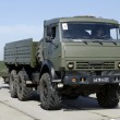 Постер, плакат: Military equipment in the same formation