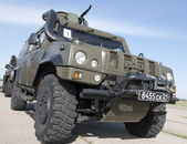 Armored military vehicle «Lynx» — Stock Photo