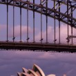 Stock Photo: HARBOUR BRIDGE DETAIL
