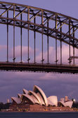 HARBOUR BRIDGE DETAIL — Stock Photo