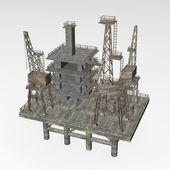 Boren rig — Stockfoto