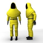Protective suit — Stock Photo