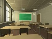 Classroom — Stock Photo