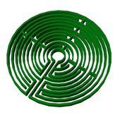 Maze (labyrinth) — Stock Photo