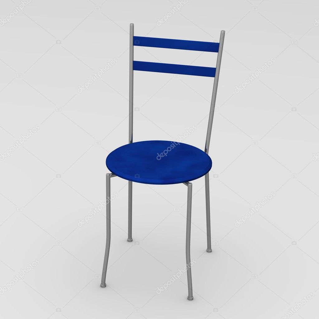 3d render of modern chair — Stock Photo #10074635