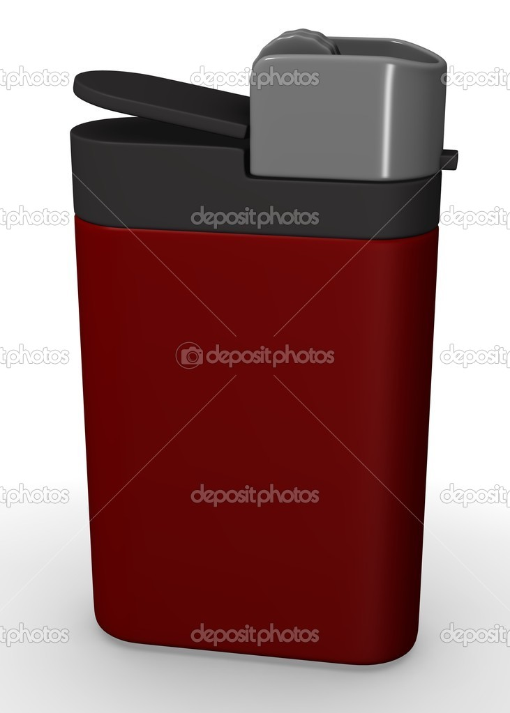 3d render of lighter (fire) — Stock Photo #10079774