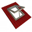 Foto Stock: Roof window