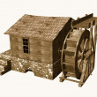 Water mill — Stock Photo #10082497