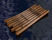 Raft — Stock Photo
