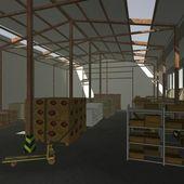 Warehouse — Stok fotoğraf