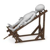Tortural ladder — Stock Photo