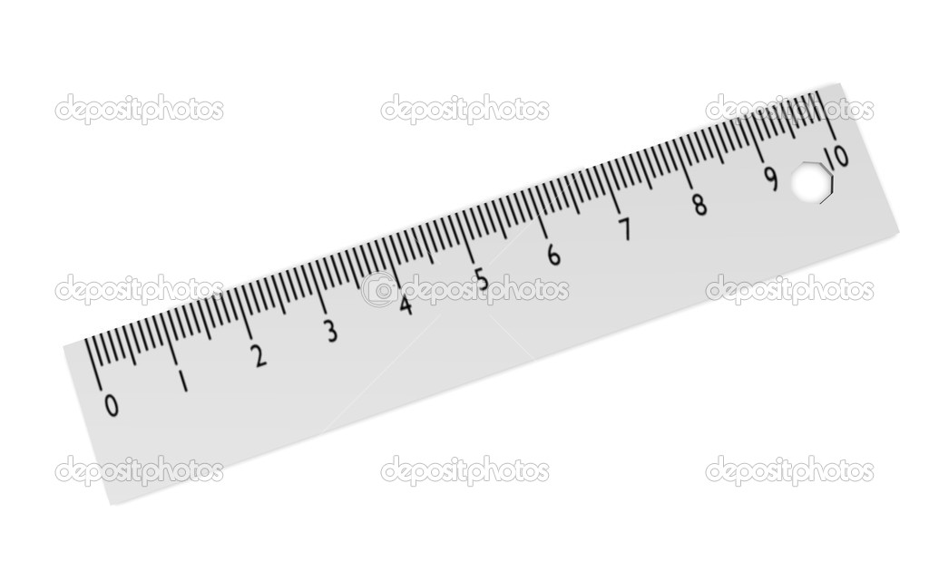 3d render of ruler (measurer)  Stock Photo #10081040