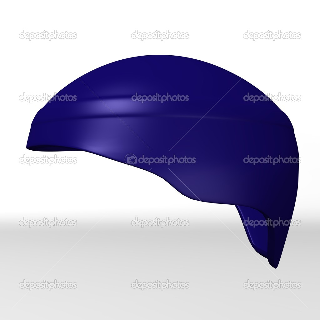 3d render of ski helmet  Stock Photo #10081363