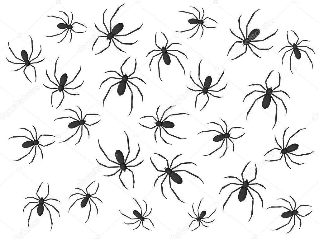 可爱蜘蛛怎么画简笔画