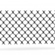 3d render of chain fence — Stok Fotoğraf #10697347