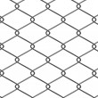 3d render of wire fence — Stock Photo #10698588