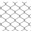 Stock Photo: 3d render of wire fence