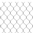 3d render of wire fence — Stock Photo