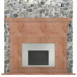 3d render of fire place — Stock Photo