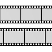 3d визуализация пустой фильм — Стоковое фото