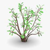 3d render of simple tree — Stock Photo