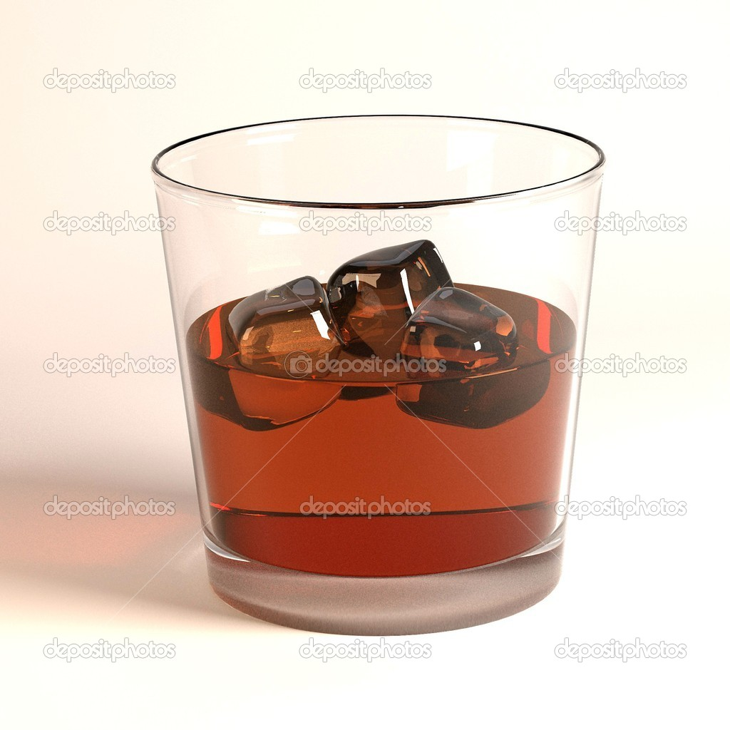 3d render of alcohol drink — Stock Photo #10696096
