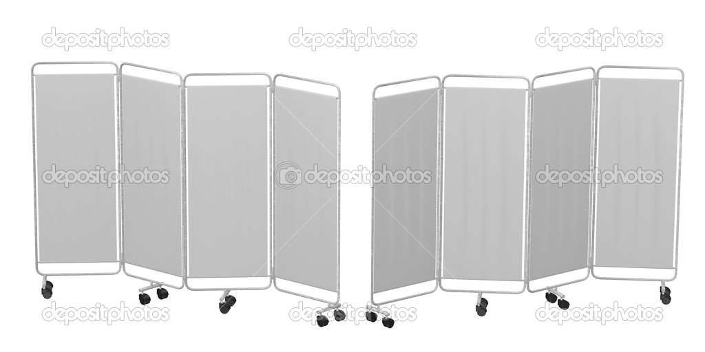 3d render of folding screen — Stock Photo #10698749