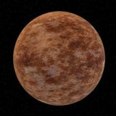 3d render of venus planet — Stock Photo