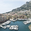 Yachts Monaco Coastline — Stock Photo