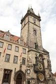 Kątowe praski zegar astronomiczny — Zdjęcie stockowe