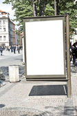 Blank Advertisement Space — Stock Photo