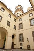 Courtyard Corner Czech Republic — Stock Photo