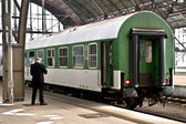 Small European Train — Stock Photo