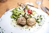 Snail Cuisine — Stock Photo
