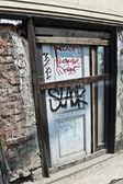 Vandalized Property — Stock Photo