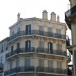 Fancy Black Balconies — Stock Photo #10634968