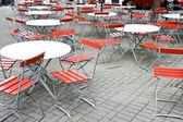Cafe Sitting Area — Stock Photo
