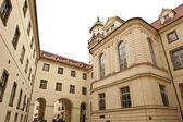 Czech Republic Courtyard — Stock Photo
