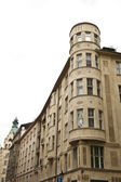 Cylindrical Prague Architecture — Stockfoto