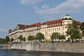 Czech River Border — Stock Photo