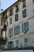 Descente Crotti Apartments — Stock Photo
