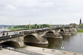 Dresden Bridge — Stock Photo