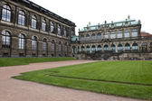 Dresden Palace Path — Stock Photo