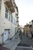 European Neighborhood Alley — Stock Photo