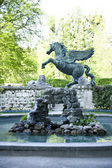 Flying Horse Statue — Stock Photo