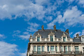 Front Brussels Living Quarters — Stock Photo